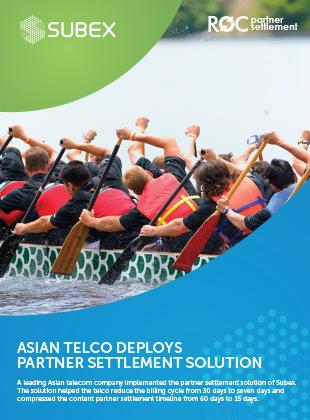 ASIAN TELCO DEPLOYS PARTNER SETTLEMENT SOLUTION
