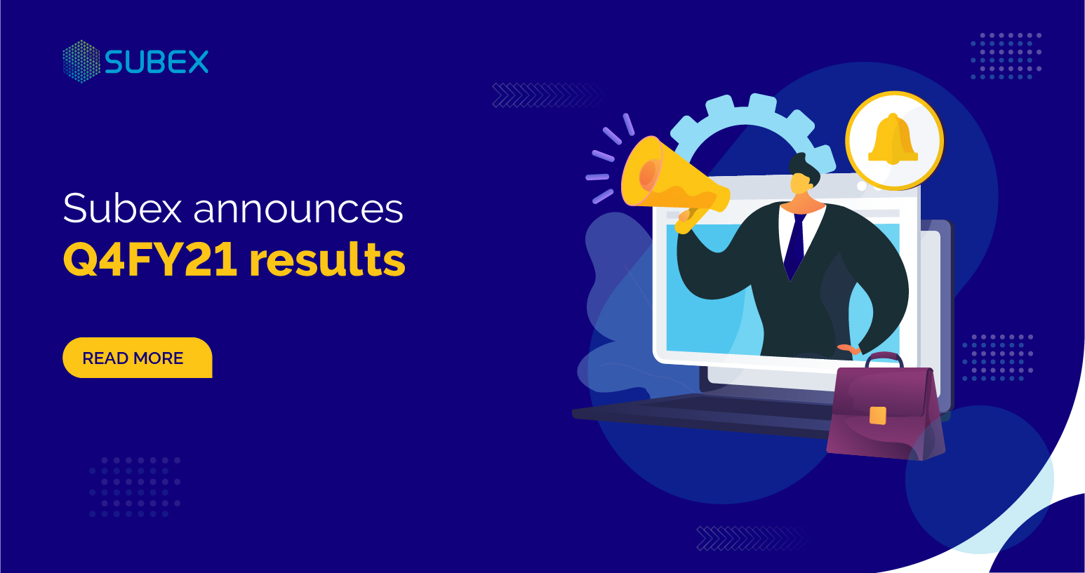 Subex announces Q4FY21 results