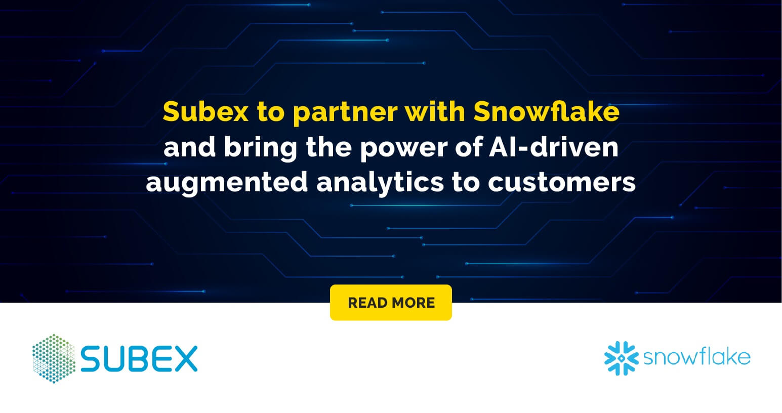 Subex to partner with Snowflake